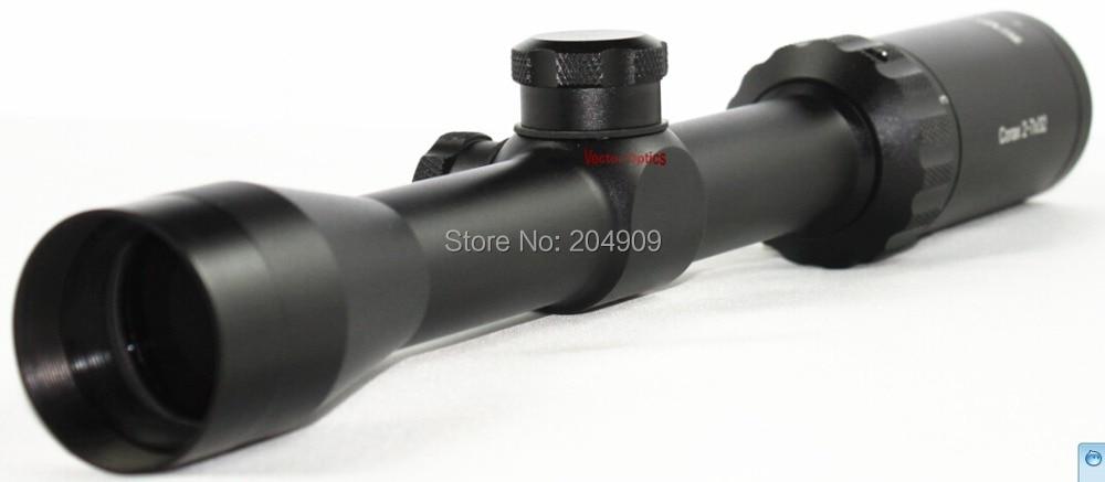 TAC Vector Optics 2-7x32 Shooting Rifle Scope Gun Sight with 308 BDC Reticle Mount Ring прицел nikon monarch 3 2 8x32 w bdc