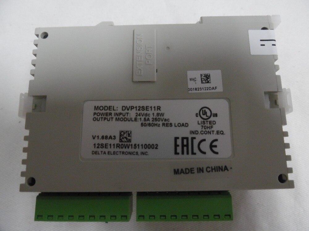 Delta PLC SE série DVP12SE11R DC 8DI 4DO (relais) 3 COM (Mini USB/RS485x2/Ethernet) nouveau