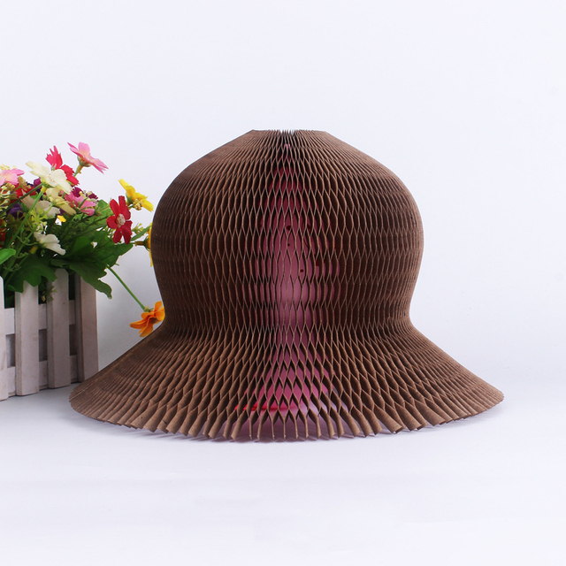 68bb3e89bbd Hot Creative Beach Party Flower Vase Magic Paper Hat Variety Magic Tricks  Hat for Baby Kids Girls Birthday Fun Games Gift