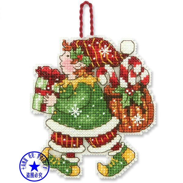 Top Quality Lovely Hot Sell Counted Cross Stitch Kit Santa ...