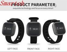 Smartch смарт-браслет V8 Часы Приборы для измерения артериального давления Фитнес трекер Смарт-браслет сердечного ритма Мониторы Шагомер Смарт-браслет для IOS