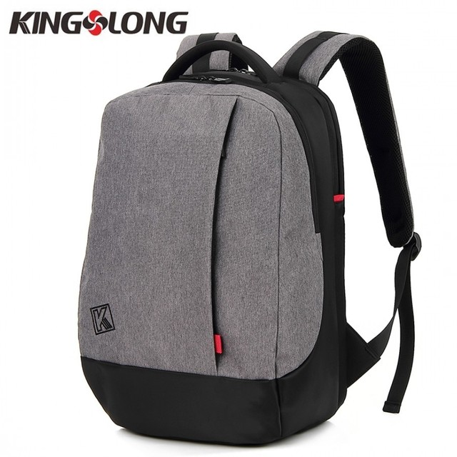 d88121c58dda KINGSLONG Casual Student School Backpack Water Repellent Laptop Backpack  For Adolescent 15.6 Inch Men s Backpack KLB1131030-7