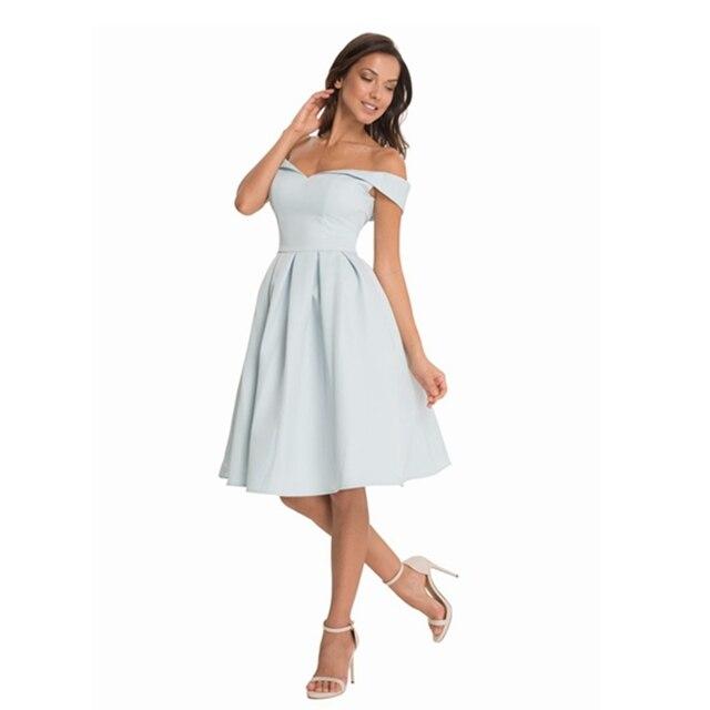 9e0a59abd1 Kobiety sukienek 2018 Lato Off Ramię Eleganckie Sexy Klub Suknie Wieczorowe  Backless Midi Sukienka