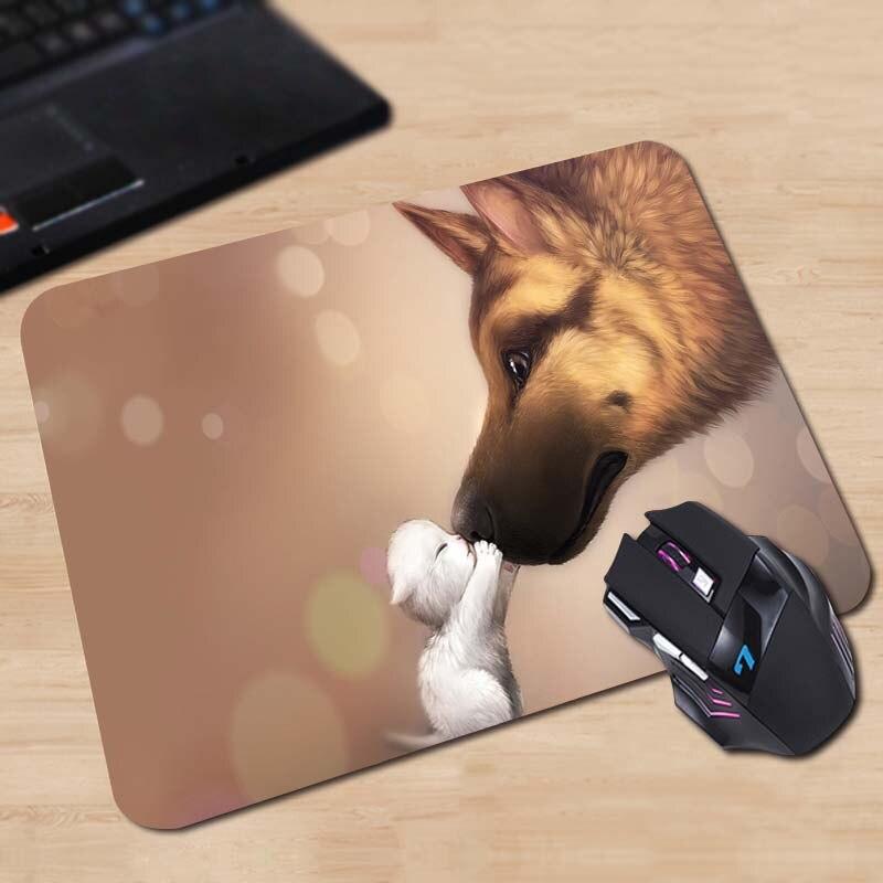 Babaite индивидуальные Мышь Pad apofiss Животные Товары для кошек Пузыри огонь Волкодав компьютер Тетрадь прямоугольник Мышь Коврики pad