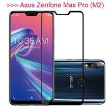 For Asus Zenfone Max Pro M2 ZB631KL Tempered Glass For Zenfone Max M2 ZB633KL ZB 631KL 633KL M 2 Case Protective Glas Film Cover