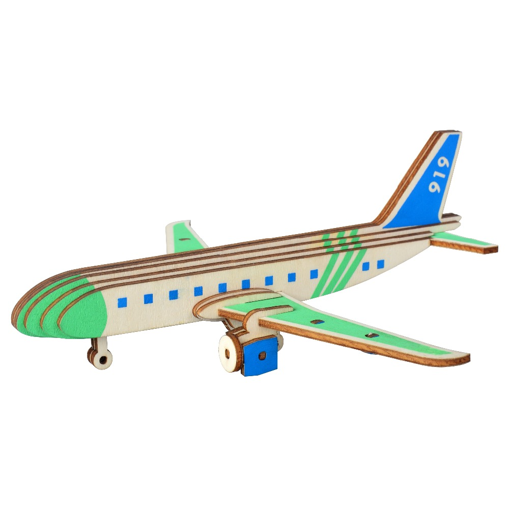 Airliner Model Kids toys 3D Puzzle wooden toys Wooden Puzzle Educational toys for Children