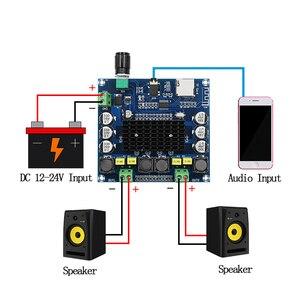 Image 5 - TDA7498 Bluetooth 5.0เครื่องขยายเสียงดิจิตอลประสบการณ์HDรองรับTF Card AUX Dual Channel 100W * 2สเตอริโอเครื่องขยายเสียง