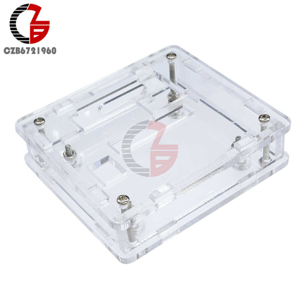 Transparent Acrylic Box Clear Cover for W1209 Digital Thermostat Temperature Conctroller Thermometer Protection Cover