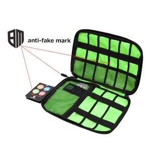 Image 2 - BAGSMART Acessórios Eletrônicos Saco de Embalagem Para O Carregador de Telefone Cabo Data USB Cartão SD Para Colocar Na Mala de Viagem Organizar