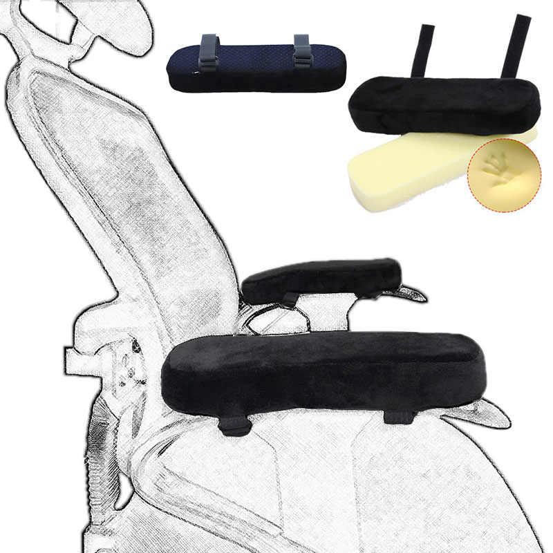 Kursi Sandaran Tangan Bantalan untuk Kursi Kantor Lembut Siku Bantal Bantalan Pelindung Lengan Panjang Lengan Siku Brace Patch Istirahat Bantal