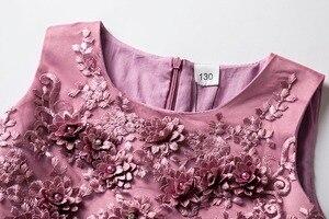 Image 3 - Cielarko Flower Girls Dress Wedding Party sukienki dla dzieci perły formalna suknia 2018 wieczorowe stroje dla dzieci Tulle Girl Frocks