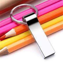Hot sale Metal USB Flash Drive pendrive 128GB 64GB 32GB 16GB 8GB flash Memory stick pen drive usb cle Free shipping