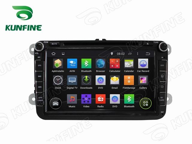 8 Pulgadas Android 4.4 Del Coche DVD GPS de Navegación para VW Radio Bluetooth 3G Wifi SteeringWheelControlRemote