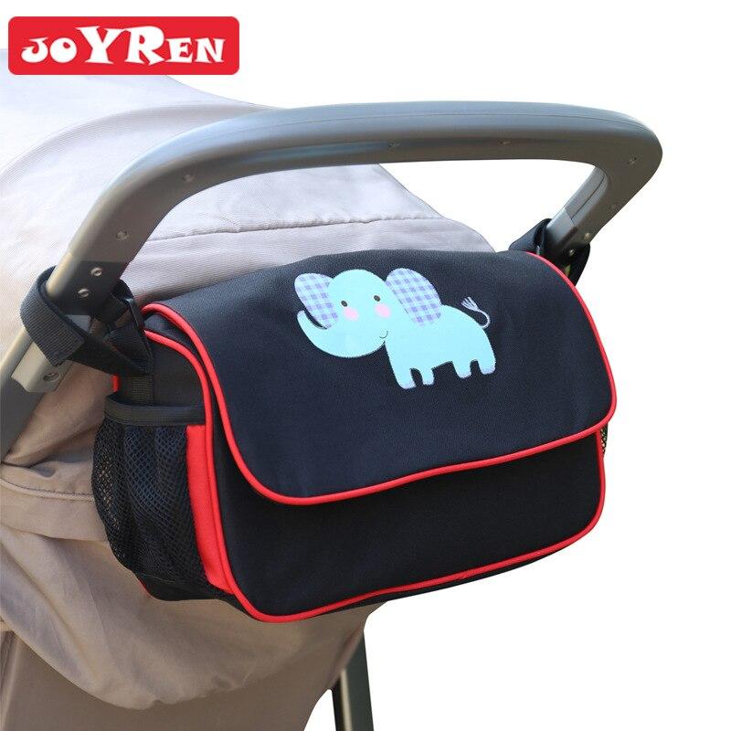 Portable baby stroller organizer bag mul