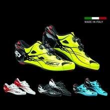 Sidi Shot 2017 Дорожная обувь Vent Carbon дорожная обувь дорожный замок обувь для велоспорта