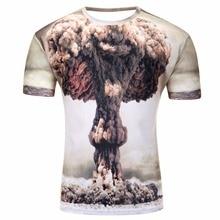 Water Drop Mobile 3D Print Short Sleeves Men t shirt