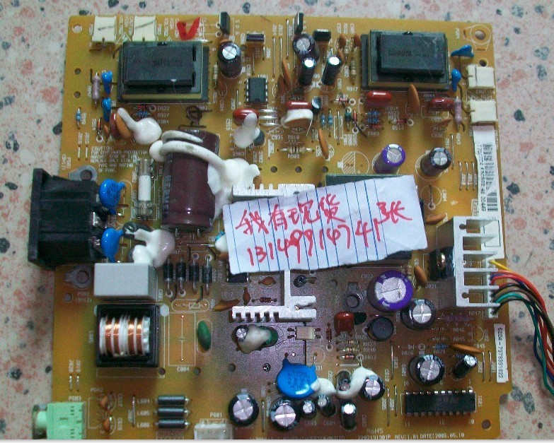 Free Shipping>Original JEAN JT178DP18-2 high-voltage power supply board 2202131301P pressure plate-Original 100% Tested Working 48 l9002 a14 fp737s power board q7t3 power board high voltage power supply integrated plate