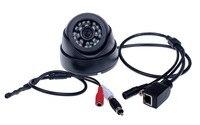Low Illumination HI3516C 1 2 8 SONY IMX222 Full HD Indoor Dome Camera Audio Microphone IP