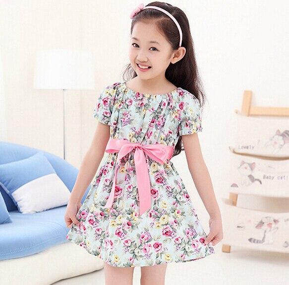 1d83cf86e 2015 niñas vestidos estampados de verano de ropa princesa tutu dress ropa  niños niños vestidos con