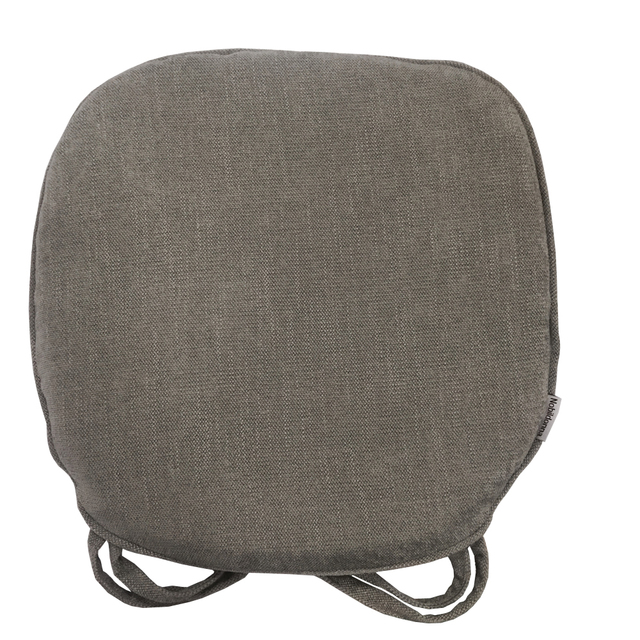 Nobildonna Gray 45*43cm Memory Foam Chenille Chair Pad With Ties Home  Kitchen Office Chair