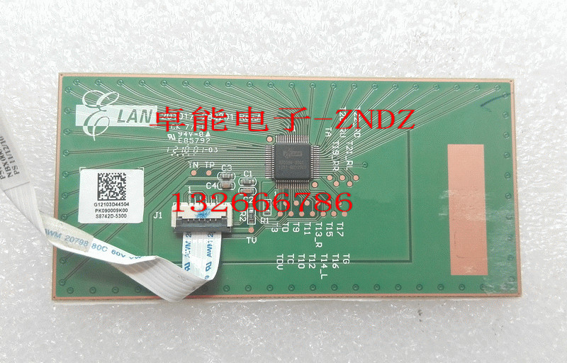 For ACER E1-571 531 5741 5740 5750 5750G Trackpad Touchpad Board With Cable PK090009K00