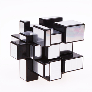 Image 5 - 3x3x3 Magic Mirror Cubes Cast Coated Puzzle  Professional Speed Magic Cube  Magic Education Toys For Children