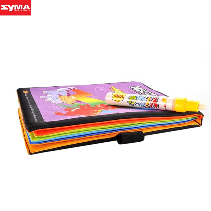 SYMA Drawing toys Magic Water Drawing Book Coloring Book Doodle Magic Pen Animals Painting water drawing toys mat dec21
