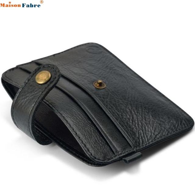 Maison Fabre Jasmine Slim Credit Card Holder Mini Wallet ID Case Purse Bag Pouch 0221 drop shipping