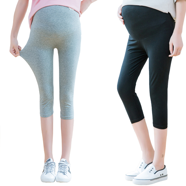 03572eed8007e7 2017 New maternity Leggings pregnant Women Skinny Pants Sexy Patchwork  Legging Fitness Slim cropped Trousers plus size