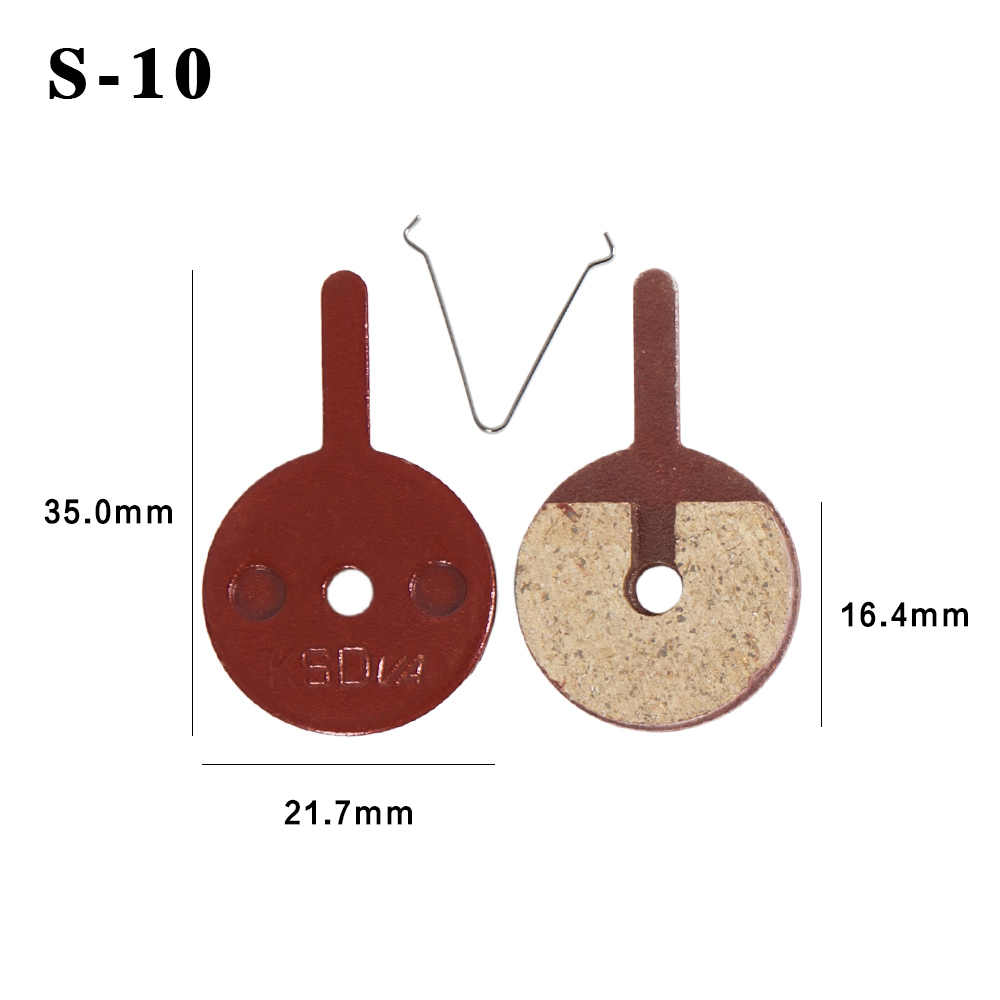 Tutti i tipi di MTB della bicicletta della bici ciclismo pastiglie dei freni a disco di Ceramica semi-metallico pastiglie freno per SHIMA SRAM AVID HAYES magura Formula