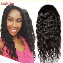 Top Quality Wholesale Price Unprocessed Virgin Brazilian Lace Front Wigs Water Wave Glueless Lace Front Human Hair Wigs Freepart