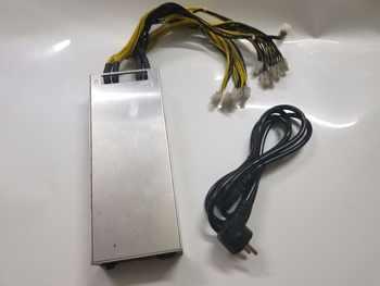 YUNHUI Verwendet BTC LTC bergmann netzteil 176-264 v 12 v 150A MAX AUSGANG 1800 watt für ANTMINER s7 S9 L3 + D3 A3 Baikal X10 Riesen-B