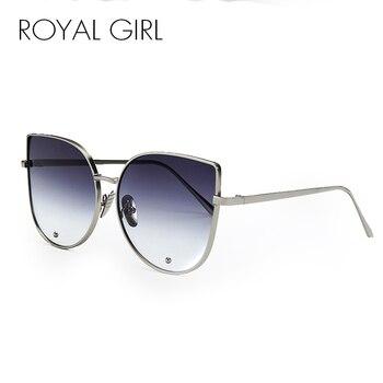 ROYAL GIRL Newest Fashion Cat Eye Sunglasses Women Brand Designer Alloy Frame Sun Glasses Shades UV400 SS179 2
