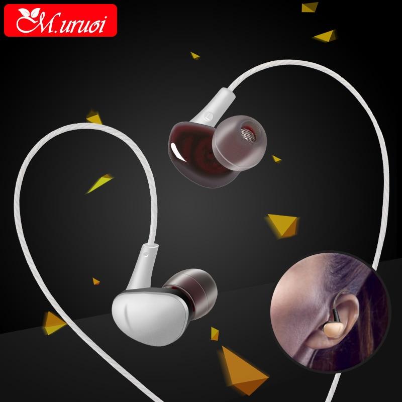 M uruoi Mp3 Music Earphone Headphone With Microphone font b Headset b font For font b