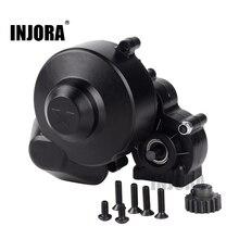 INJORA Kunststoff Komplette Zentrum Getriebe Getriebe Box mit Getriebe für Axial SCX10 SCX10 II 90046 90047 1/10 RC Crawler Auto
