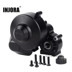 INJORA Plastic Complete Center Gearbox Transmission Box with Gear for Axial SCX10 SCX10 II 90046 90047 1/10 RC Crawler Car
