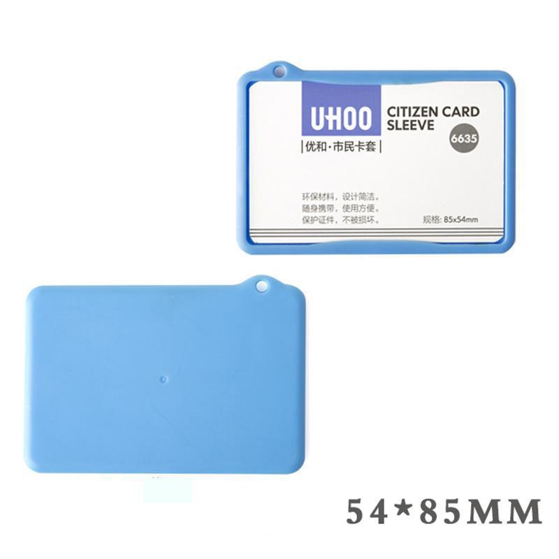 Waterproof Plastic Citizen Card Sleeve Cover ID Exhibition Cards ...