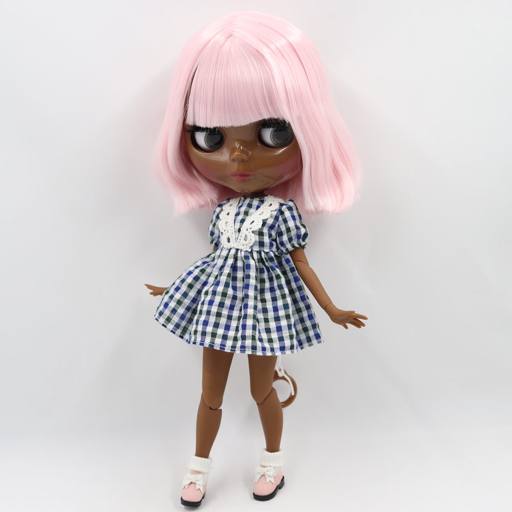 ICY Nude Blyth Doll Serires No. BL0519 Pale pink hair with