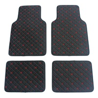 ZHAOYANHUA Universal Car Floor Mats for AUDI A1 A3 A4 A5 A6 A7 A8 Q3 Q5 Q7 A4L A6L A8L S5 TT Car styling