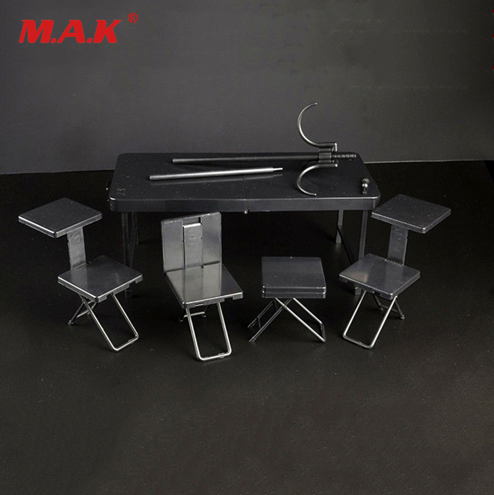 1/6 Scale 1/6 Tactics Desk Table Foldable Portable Soldier Accessory Model Toys Collection Gift Fit 12 Action Figure Accessory 1 6 scale plastics united states assault rifle gun m16a1 military action figure soldier toys parts accessory
