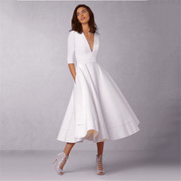 Fenghua Fashion Spring Winter Dress Women 2018 Plus Size Elegant Ball Gown Dress Female Vintage Sexy