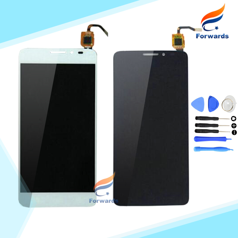 For Alcatel One Touch Idol X+ X Plus OT6043 6043 6043D Lcd Screen Display with Touch Digitizer Assembly 1 piece free shipping  white black 1 pcs for alcatel one touch idol x 6043 ot6043 lcd display with touch screen digitizer assembly free shipping