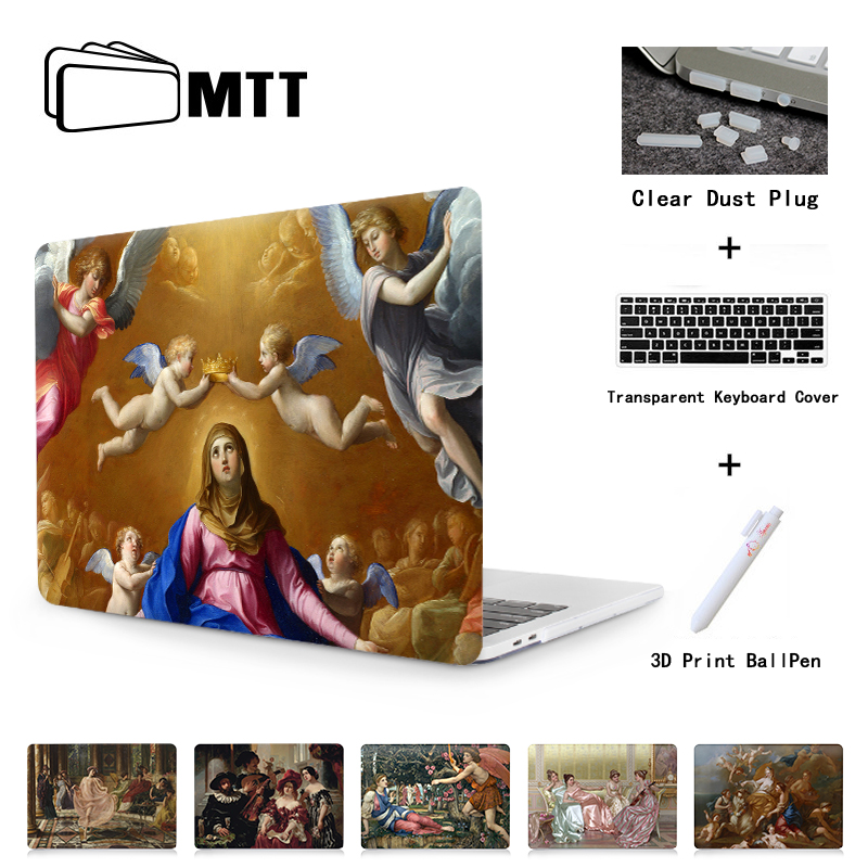 MTT Laptop Case For Macbook Air Pro 11 12 13 15 Retina With Touch Bar 2018 New Cover For Apple Mac book 13.3 15 inch Cover A1989 new laptop case cover for apple macbook air pro retina 11 12 13 3 15 for pro 13 15 inch with touch bar screen film dust plug