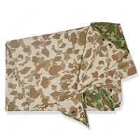 WW2 UA ARMY WAR Pacific camouflage MITCHELL OUTDOORS TENT CLOTH ES