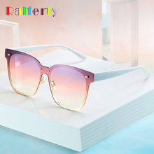 Ralferty One Pieces Sunglasses Women 2019 New Designer Square Goggles S