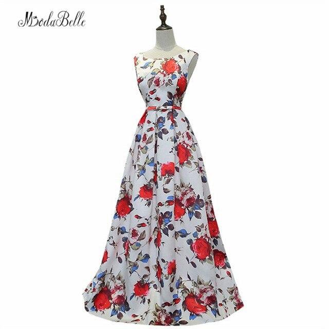 Kleid lang floral
