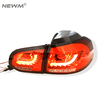 1 Pair Car Styling For VW Golf 6 Tail Lights 2009 2012 For Vw Golf6 Led