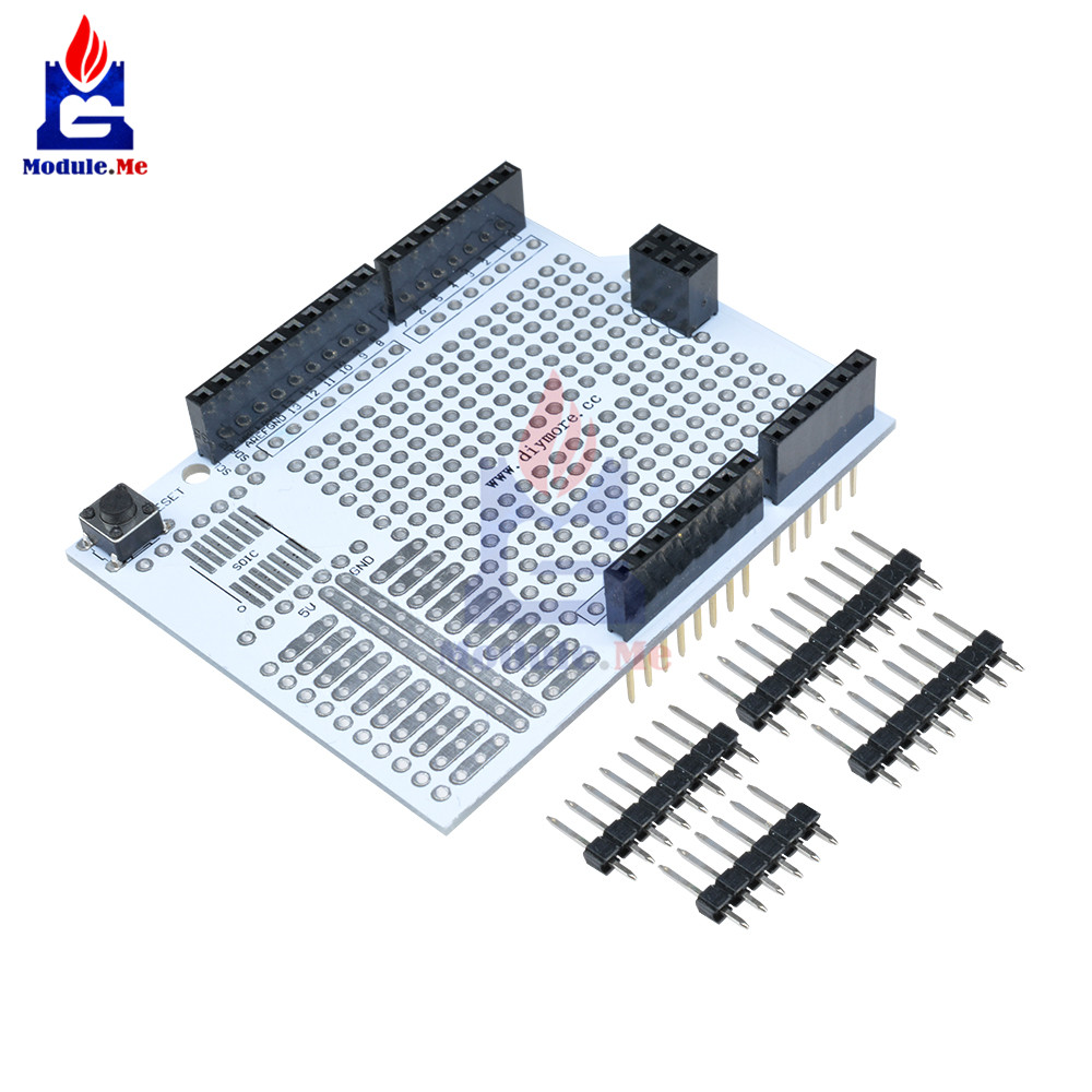 Gy 49 Max44009 Ambient Light Sensor Module For Arduino With 4p Pin Induction Cooker Control Circuit Boarddouble Sided Pcb Prototype Development Bread Board Expansion Shield Breadboard Protoshield Uno R3 One