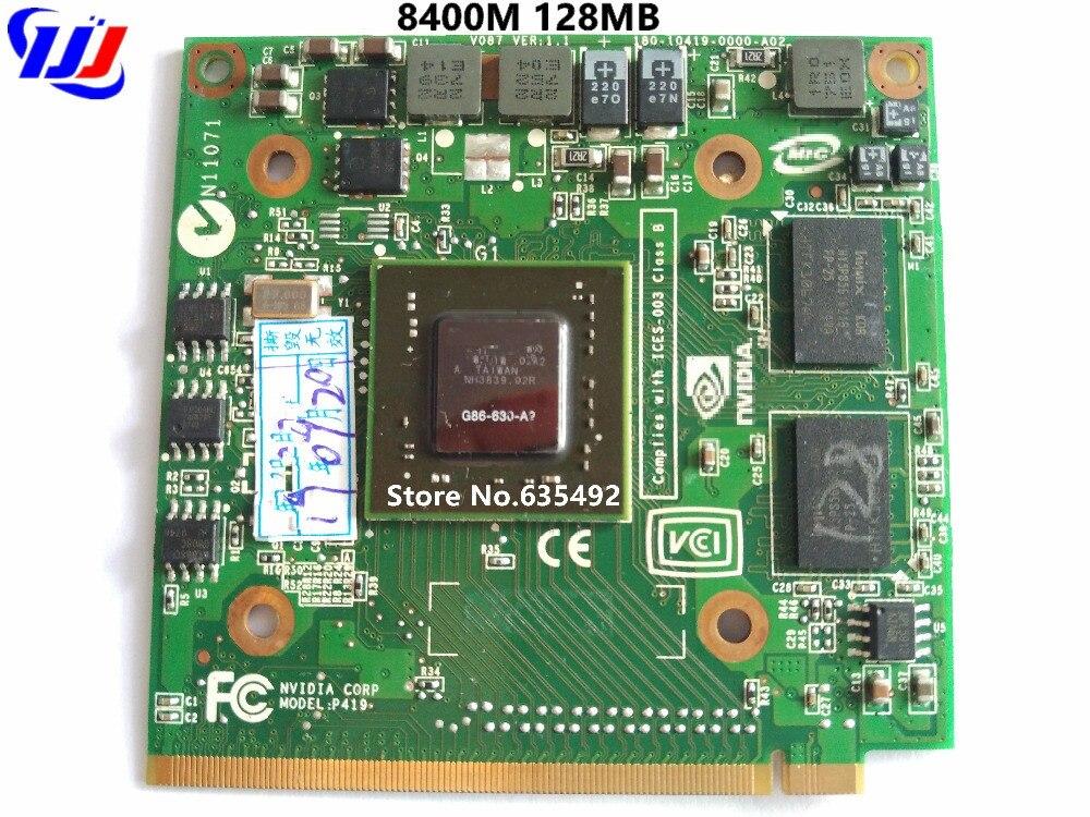 Per n Vidia GeForce 8400MGS 8400 m GS MXM IDDR2 128 mb Grafica della Scheda Video per UN c er UN s pire 5920g 5920 5520g 4520g 7520g 7720gPer n Vidia GeForce 8400MGS 8400 m GS MXM IDDR2 128 mb Grafica della Scheda Video per UN c er UN s pire 5920g 5920 5520g 4520g 7520g 7720g