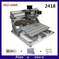 CNC DIY 2418 ER11 GRBL Control Mini CNC Machine Tools PCB Milling Machine Laser Engraving Machine